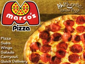 Marco S Is An Authentic Italian Pizza Restaurant They Use Traditional Recipes Brought Over By The Owner Pat Giammarco Who Out Of All Chains